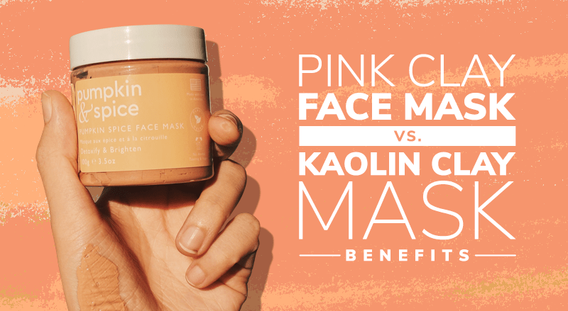 Pink Clay Face Masks vs. Kaolin Clay Masks