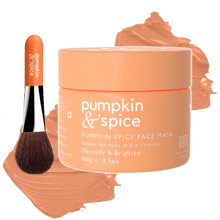 Load image into Gallery viewer, Pumpkin & Spice Clay Face Mask