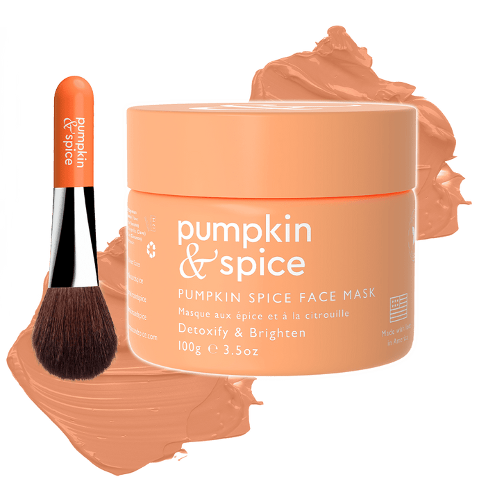 Pumpkin & Spice Clay Face Mask
