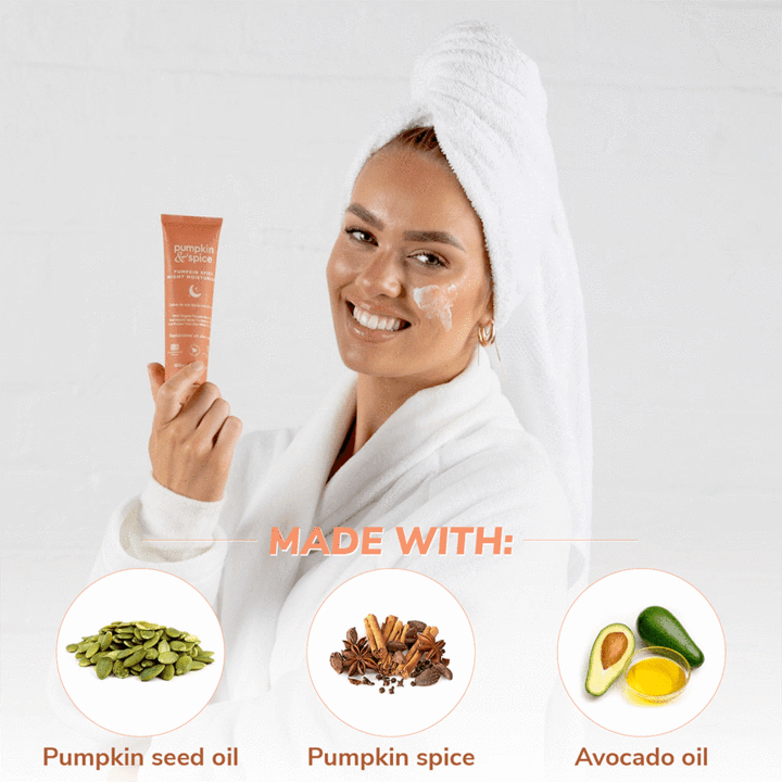 Pumpkin & Spice Night Moisturizer Cream - Auto-Replenish