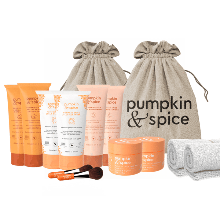 Pumpkin Spice Ultimate Skincare Bundle