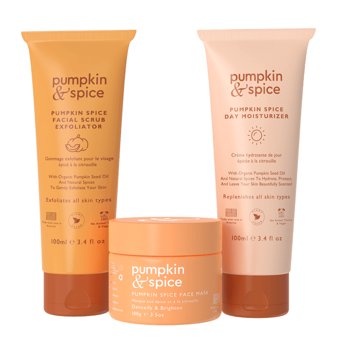 Pumpkin Spice Daily Skincare Kit
