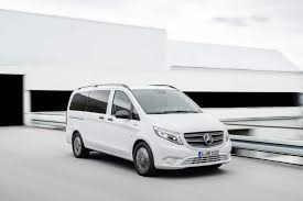 Mercedes-Benz eVito Tourer with 150 kW and 421 kilometres range