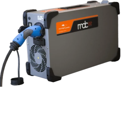 MDC22 MOBILE DC FAST CHARGER 22kW - rechargier - E Mobility is our business!