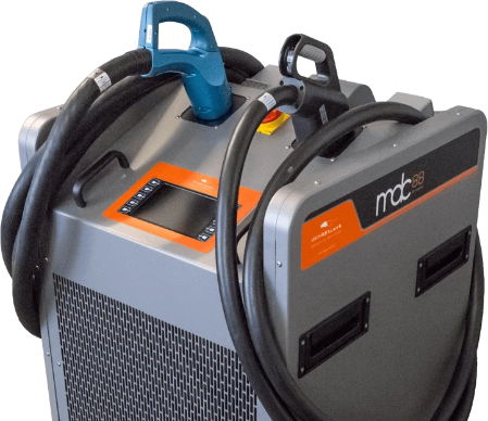 MDC88 MOBILE DC FAST CHARGER 88kW 450V - rechargier - E Mobility is our business!