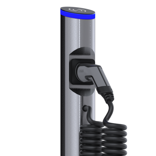 eSat r20 charging station with type 2 spiral cable - rechargier - E Mobility is our business!
