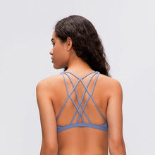 Load image into Gallery viewer, STRENGTH Cross Back Sports Bra