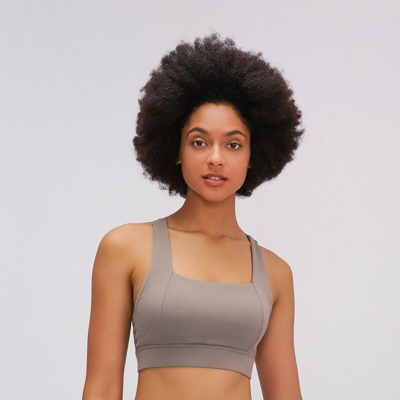 PRACTICE Women Strappy Sports Bra Buttery Soft