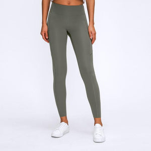 "25"" Inseam WARM-UP Yoga Leggings with Side Pockets"