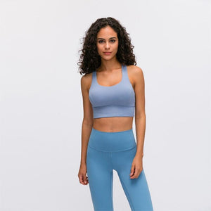 ROUTINE Cross Back Sport Bra