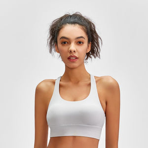 MAGIC Brushed Material Cross Back Sports Bras
