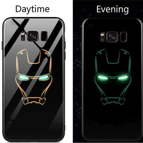 Samsung Luminous Super Hero Glass Case