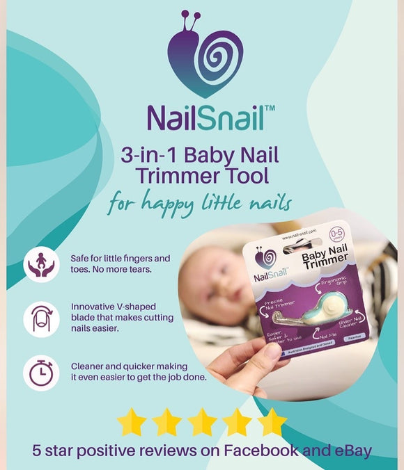 Nail Snail | 3 in 1 nail trimmer