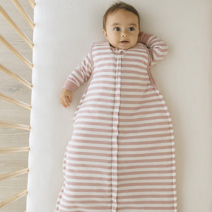 Woolbabe Sleep Bag Duvet 3-24 Month Front Zip - Dusk