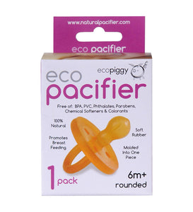 Ecopiggy Pacifier Rounded 6m+
