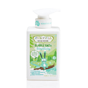 Jack n' Jill Natural Bubble bath- Simplicity