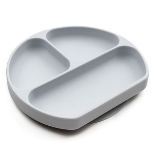 Bumkins Suction grip dish - Grey