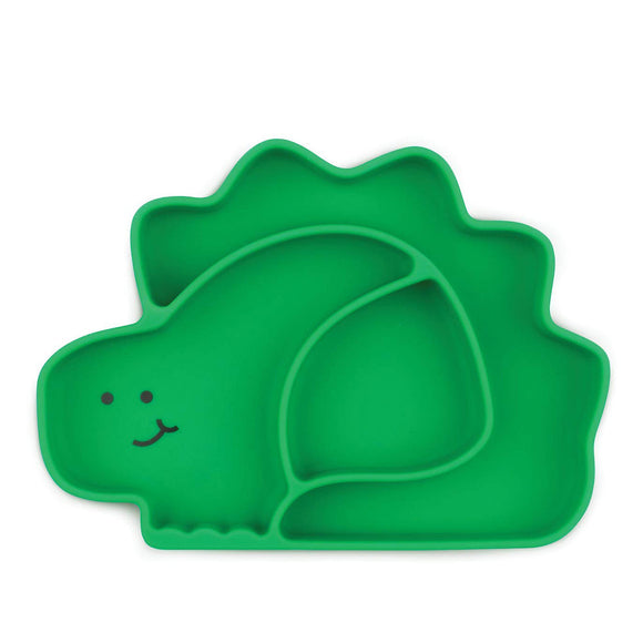 Bumkins Suction grip dish-Dino