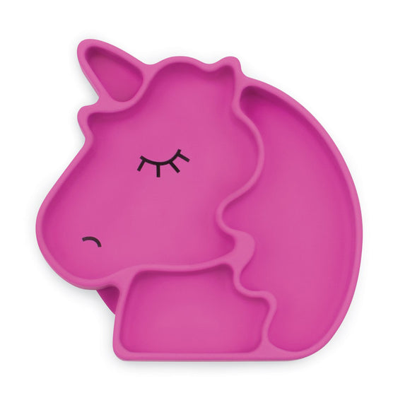 Bumkins Suction grip dish-Unicorn