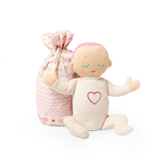 Lulla Doll - Sleep Companion CORAL