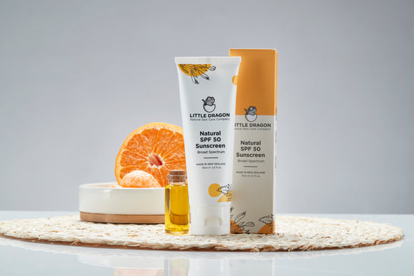 Little Dragon Natural SPF 50 Sunscreen