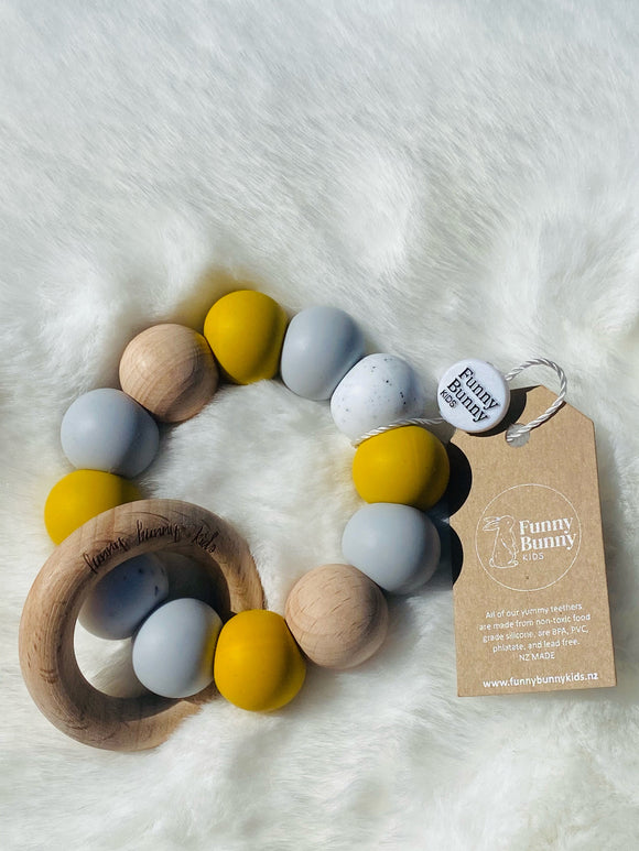 Teething Rings by Funny Bunny Kids - Kai