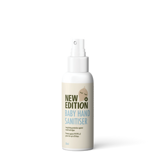 New Edition Baby hand sanitiser spray 50ml