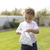 Bumkins Large reusable snack bag - Grey Arrows