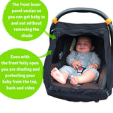 Snooze Shade car seat capsule cover