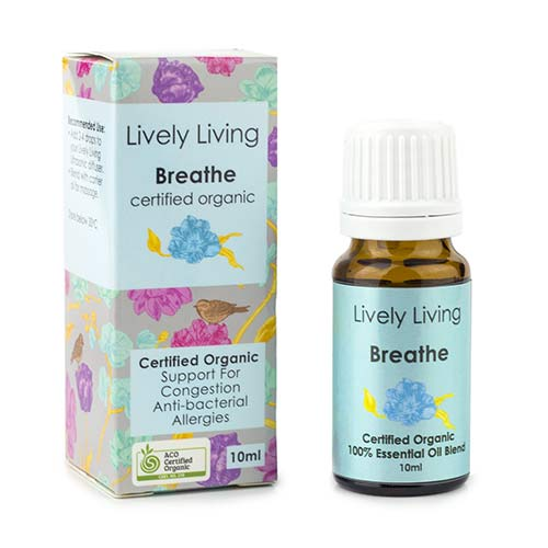 Essential oil blend - Breathe 10ml