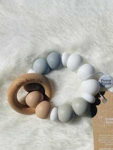 Teething Rings by Funny Bunny Kids - Nice N Neutral