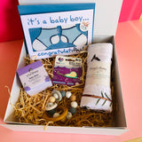 New Baby Boy Gift Box