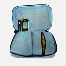 Load image into Gallery viewer, Storage Case Diabetes Supplies Blue