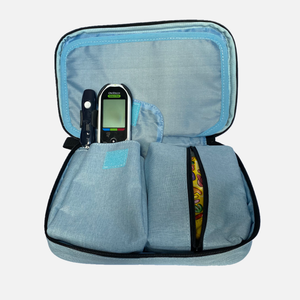 Storage Case Diabetes Supplies Blue