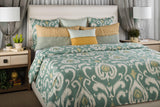 The Golden Lantern Queen Duvet Set
