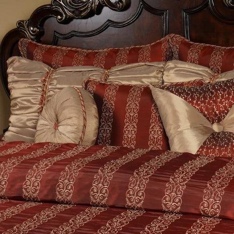 Cinnamon King Duvet Set - K&R Interiors