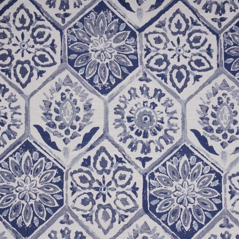 Golding Fabrics Heidi Color: Delft - K&R Interiors