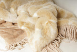 Faux Fur Throw - K&R Interiors