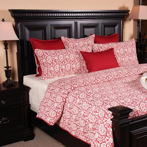 Berry Cottage King Duvet Set - K&R Interiors