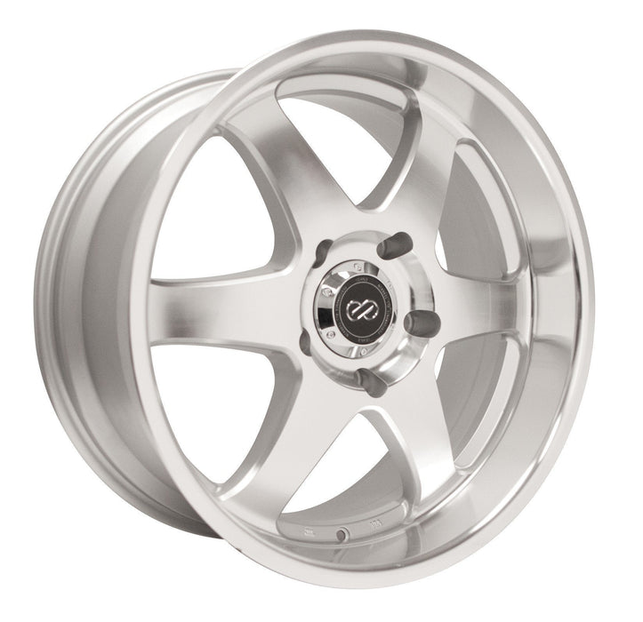 Enkei Wheel ST6 18x8.5 6x139.7  35mm Silver Machined