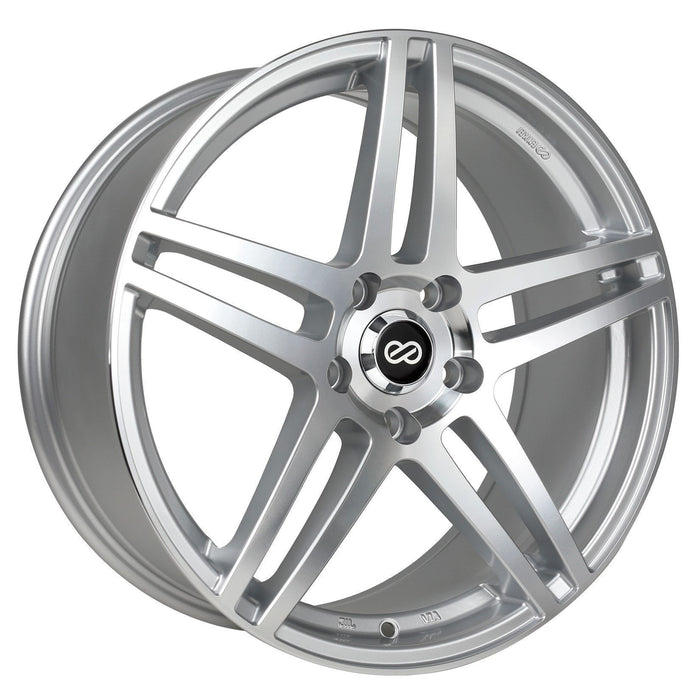 Enkei Wheel RSF5 17x7.5 5x100  50mm Silver Machined