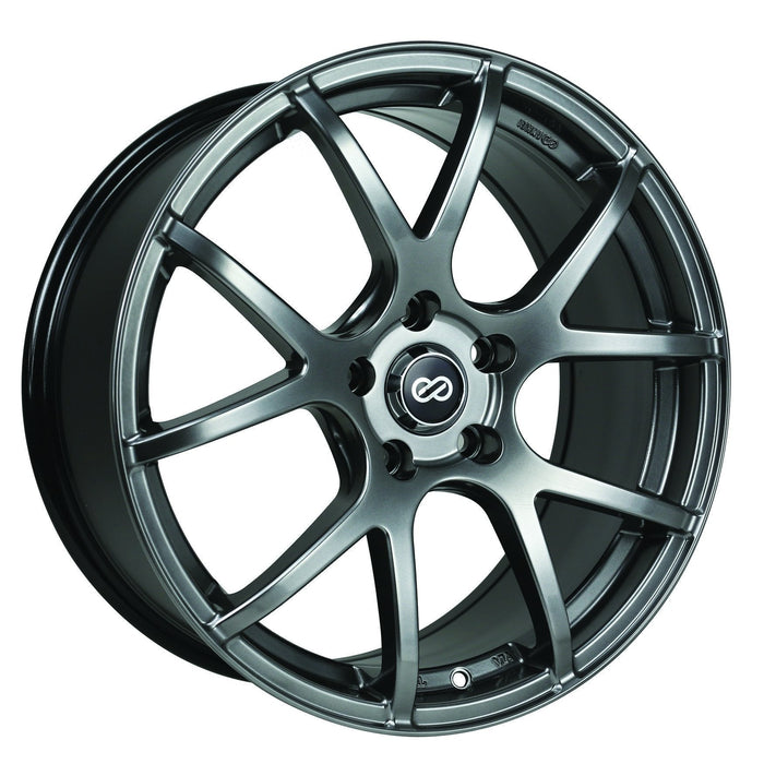 Enkei Wheel M52 17x7.5 5x100  45mm Hyper Black
