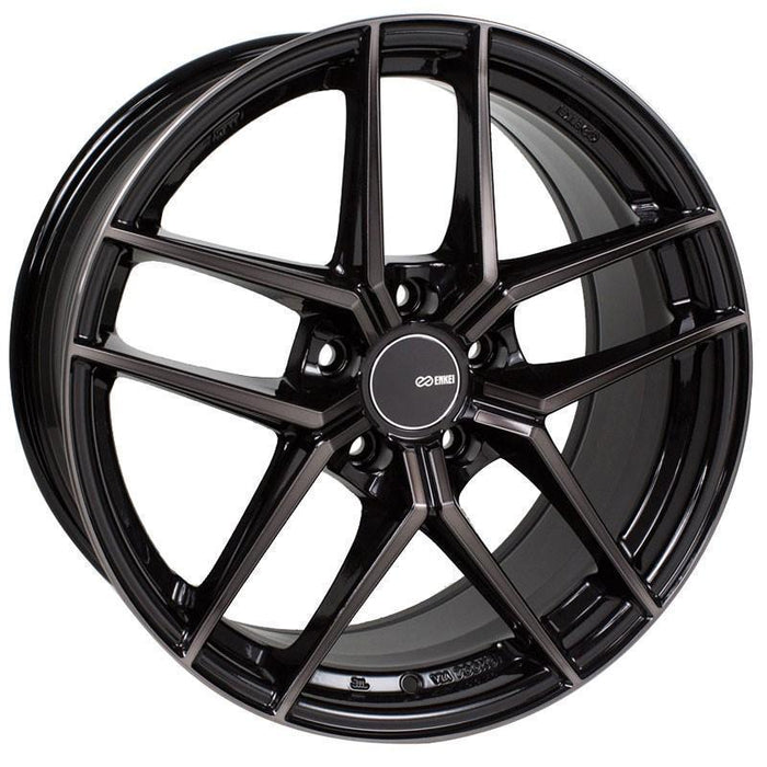 Enkei Wheel TY-5 18x8.5 5x114.3  35mm Pearl Black