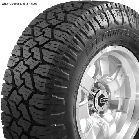 Exo Grappler by Nitto Tire 35x12.50R17LT 10 Ply E 121 Q