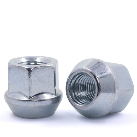 "Open End Bulge Acorn Lug Nut 14x1.5 3/4"" Hex"