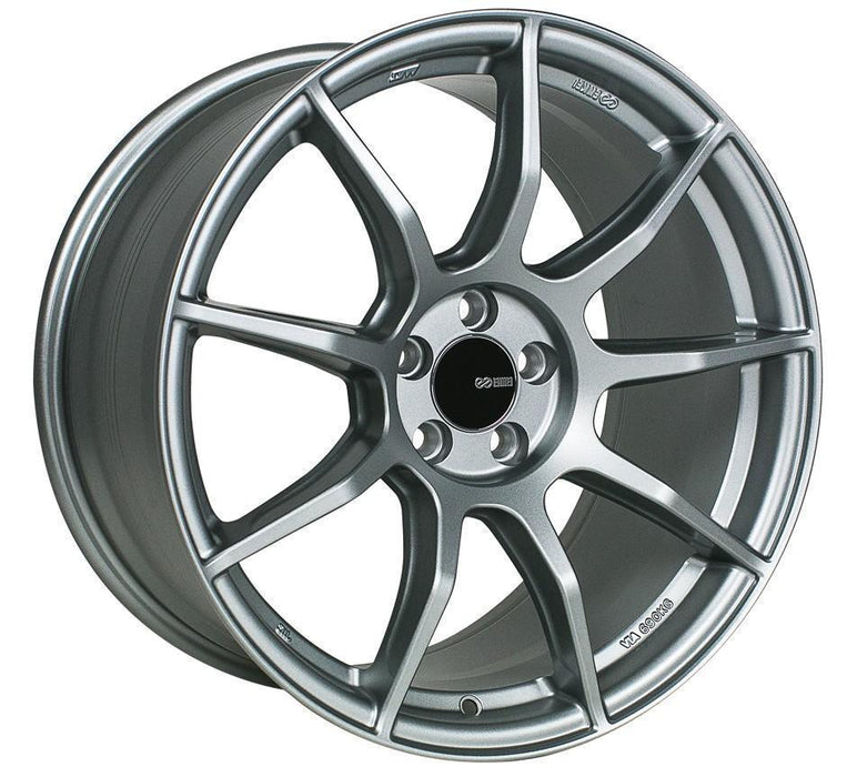 Enkei Wheel TS9 18x8.5 5x100  45mm Platinum Grey
