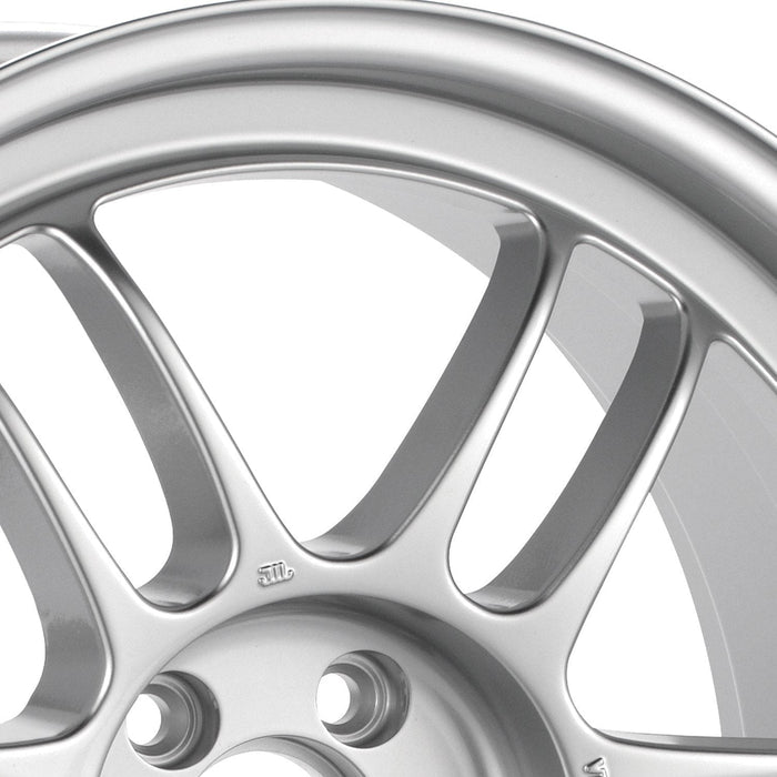 Enkei Wheel RPF1 17x7 4x100  43mm Silver