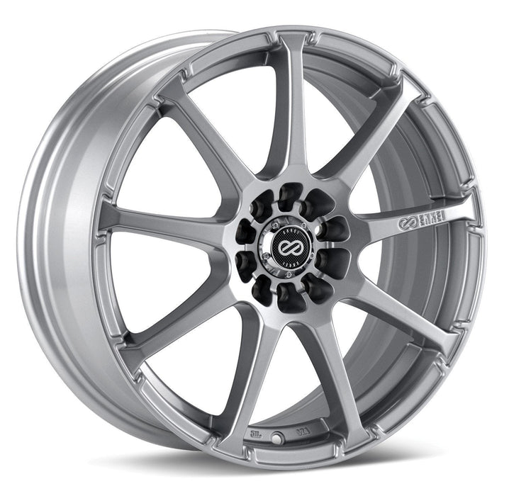 Enkei Wheel EDR9 16x7 4x100 & 4x114.3  38mm Silver