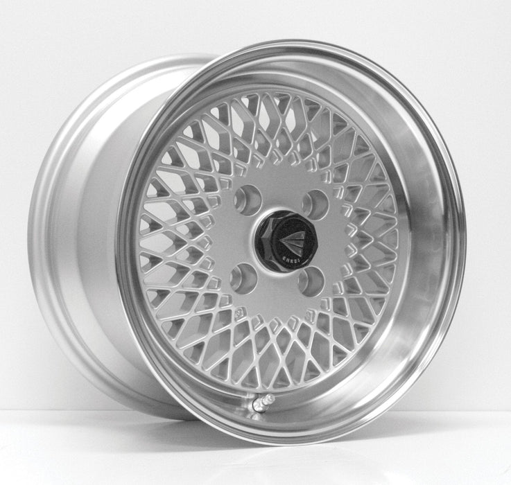 Enkei Wheel Enkei92 15x8 4x100  25mm Silver