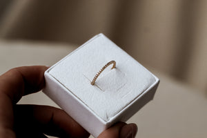 Diamond Band Ring Gold